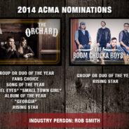 2014 ACMA NOMINATIONS ANNOUNCED…
